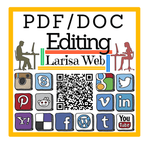 PDF and DOC Editing Services Larisa Web