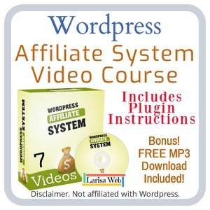Wordpress Affiliate System Course