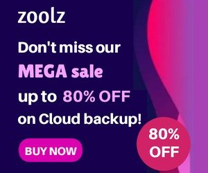 Zools Cloud Storage Sale